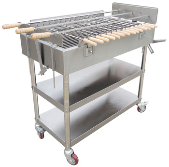 Charcoal Bbq Grill Stainless Steel